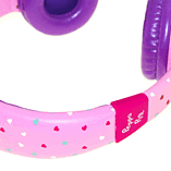 Peppa Pig Headphones - Peppa Hearts Purple screen shot 6