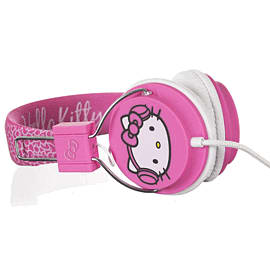 Hello Kitty Headphones - City Pink Accessories