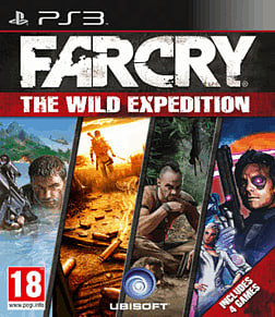 Far Cry: The Wild Expedition PlayStation 3 Cover Art