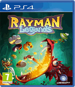 Rayman Legends PlayStation 4 Cover Art