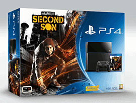 PlayStation 4 with inFAMOUS: Second Son PlayStation 4