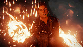 PlayStation 4 with inFAMOUS: Second Son screen shot 1