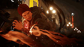 PlayStation 4 with inFAMOUS: Second Son screen shot 2