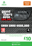 GTA Online Bull Shark Cash Card - $500,000 Xbox Live