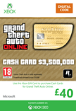 GTA Online Whale Shark Cash Card - $3,500,000 Xbox Live