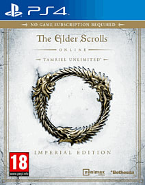 The Elder Scrolls Online Imperial Edition - Only at GAME PlayStation 4 Cover Art