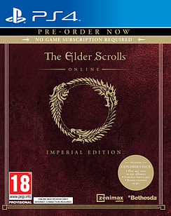 The Elder Scrolls Online: Tamriel Unlimited Imperial Edition PlayStation 4 Cover Art
