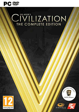 Sid Meier's Civilisation V - The Complete Edition PC Games Cover Art