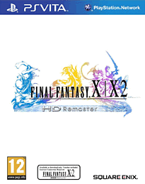 Final Fantasy X X-2 HD Remaster PS Vita Cover Art