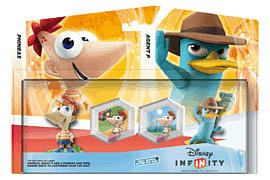 Disney INFINITY Phineas and Ferb Toy Box Pack Toys and Gadgets