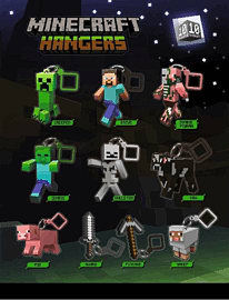 Minecraft Hangers Gifts