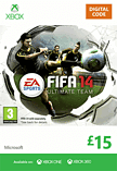 FIFA 14 Ultimate Team £15 Top Up Xbox Live