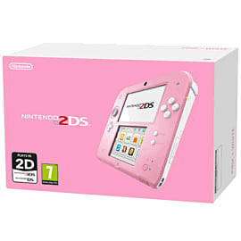 Nintendo 2DS - Pink and White 2DS