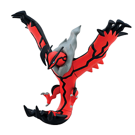 Pokemon XY Articulated Vinyl YVELTAL Figure Sku Format Code