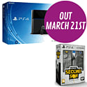 PlayStation 4 with inFAMOUS: Second Son Collector's Edition - Only at GAME PlayStation 4