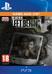 The Last of Us: Left Behind PlayStation Network Cover Art