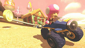 Black Wii U Premium with Mario Kart 8 screen shot 1