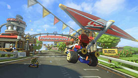 Black Wii U Premium with Mario Kart 8 screen shot 2