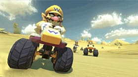 Black Wii U Premium with Mario Kart 8 screen shot 3