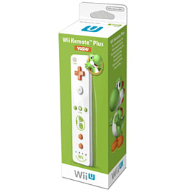 Nintendo Wii U Yoshi Remote Plus Accessories