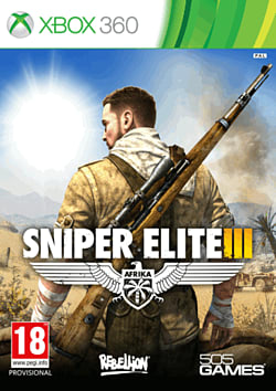 Sniper Elite III Xbox 360 Cover Art