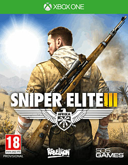 Sniper Elite III Xbox One Cover Art