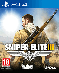 Sniper Elite III PlayStation 4 Cover Art
