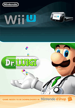 Dr. Luigi Wii U Cover Art
