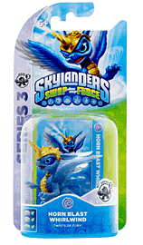 Horn Blast Whirlwind - Skylanders SWAP Force Toys and Gadgets