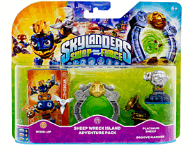 Skylanders SWAP Force Sheep Wreck Island Adventure Pack Toys and Gadgets