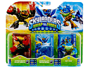 Skylanders SWAP Force Triple Character - Rip Tide, Horn Blast Whirlwind and Hyper Beam Prism Break Toys and Gadgets