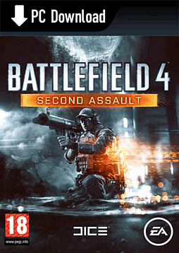 Battlefield 4: Second Assault PC Games Cover Art