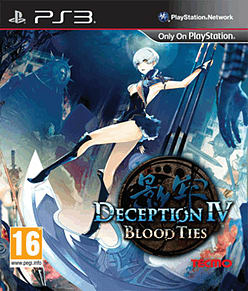 Deception IV: Blood Ties PlayStation 3 Cover Art