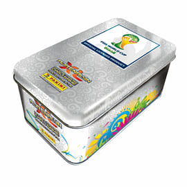 FIFA World Cup Brazil 2014 Official Trading Card Game - Adrenaline XL Sticker Tin (incl 48 cards) Toys and Gadgets