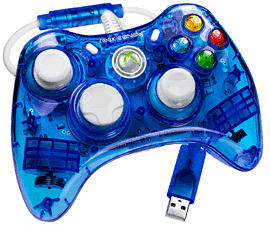 Rock Candy X360 Controller - Blue Sku Format Code