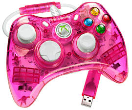 Rock Candy X360 Controller - Pink Accessories