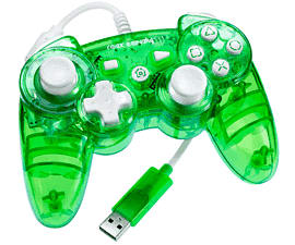 Rock Candy Wired PS3 Controller - Green Accessories