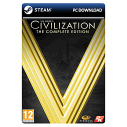 Sid Meier's Civilization V: The Complete Edition PC Games Cover Art
