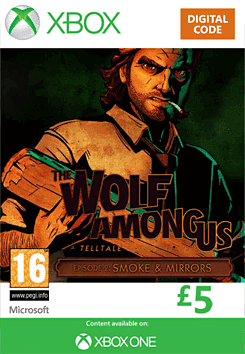 The Wolf Among Us - Episode 2: Smoke and Mirrors Xbox Live Cover Art
