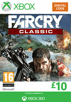 Far Cry Classic Xbox Live Cover Art