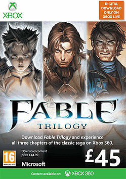 Fable Trilogy Xbox Live Cover Art