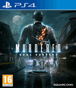 Murdered: Soul Suspect Limited Edition PlayStation 4 Cover Art