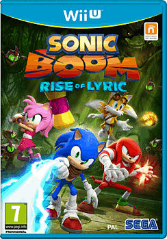 Sonic Boom: Rise of Lyric Wii U Cover Art