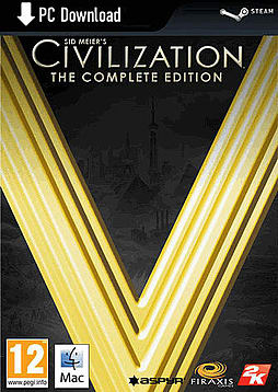 Sid Meier's Civilization V: The Complete Edition (MAC) PC Games Cover Art