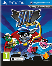 The Sly Trilogy PS Vita Cover Art