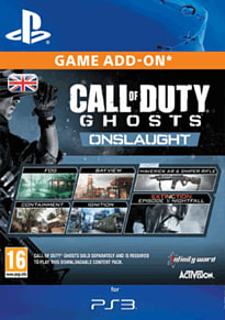 PS3 Call of Duty: Ghosts - Onslaught PlayStation Network Cover Art