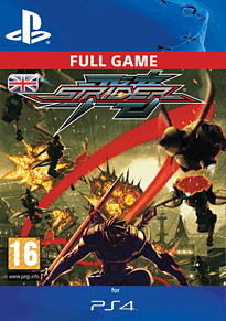 Strider (PlayStation 4) PlayStation Network Cover Art