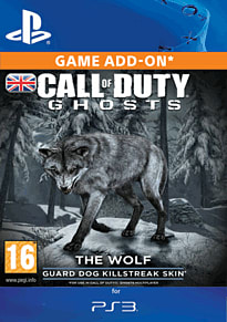 Call of Duty: Ghosts - Wolf Skin PlayStation Network