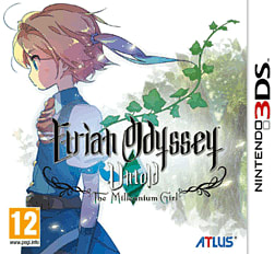 Etrian Odyssey Untold: The Millennium Girl 3DS Cover Art