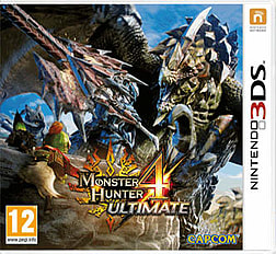 Monster Hunter 4 Ultimate 3DS Cover Art